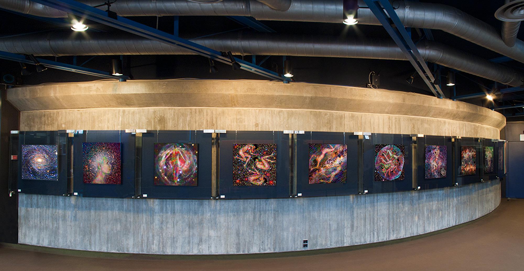 Bärbel Hornung | Ausstellung Planetarium Stuttgart | 2010